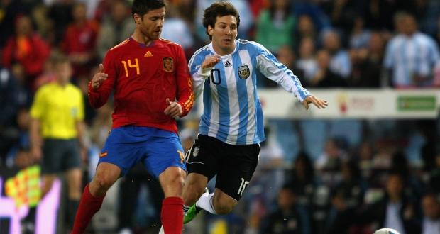 Испания разгромила Аргентину втоварищеском матче